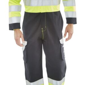 Beeswift Arc Compliant Boilersuit Yellow