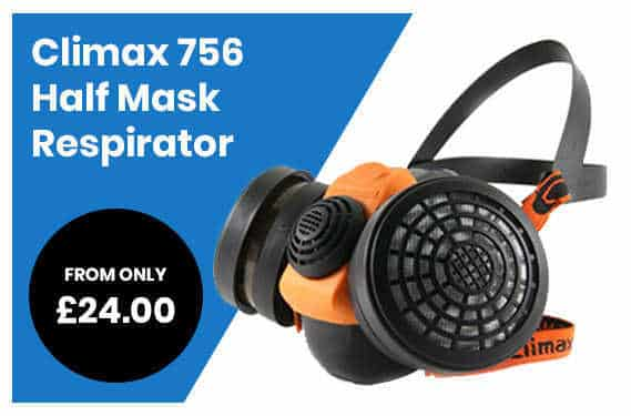 Climax 756 Half Mask Respirator Sale Offer